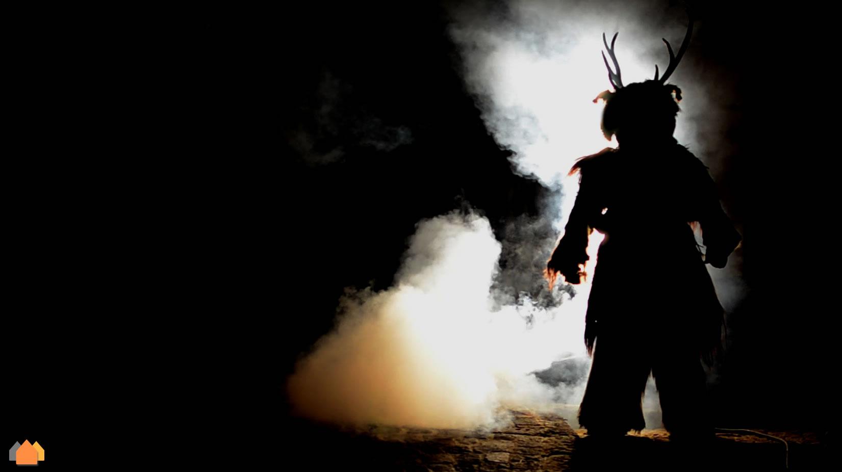 """Uomo Cervo – """"Gl Cierv"""" – Castelnuovo al Volturno –  Il mistero di un antichissimo Rito"""